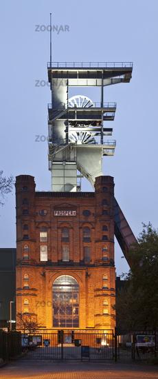Malakowturm with the headframe Prosper II, Bottrop