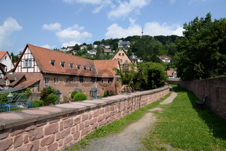 Pferdestall im Oberhof in Büdingen