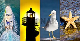 Adriatic sea collage