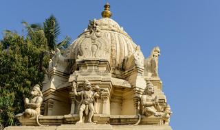 Humana Hindu Monkey God