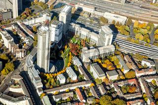 RWE Tower in Essen (NRW). Ruhrgebiet