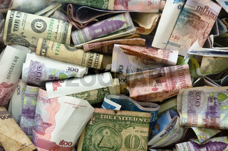 Money used in Cambodia - financial background