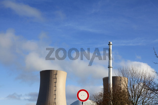 Grohnde Nuclear Power Plant, Germany, Europe