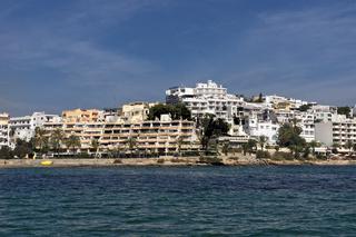 Stadtansicht Eivissa