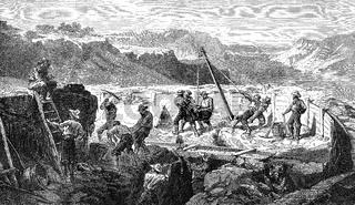 Gold mining, 19th century