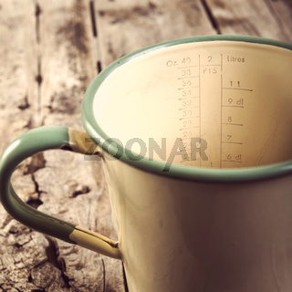 Vintage Measuring Jug Filtered