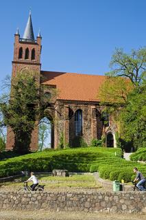 Stadtpfarrkirche St. Marien in Muencheberg
