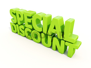 3d Special discount