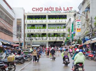 Dalat central market, Vietnam