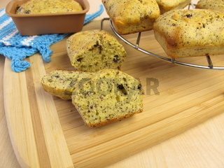 Mohn Mini-Kastenkuchen
