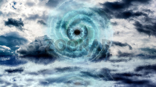 God Eye at the Sea