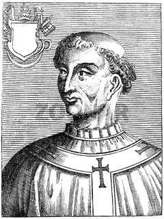 Pope Zachary, born Zacharias son of Polichronius