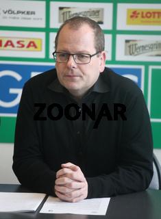 Manager Marc-Henrik Schmedt (SC Magdeburg Bundesliga-Saison 13/14)