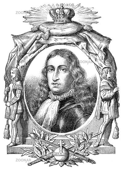Charles II, 1661-1700, king of Spain