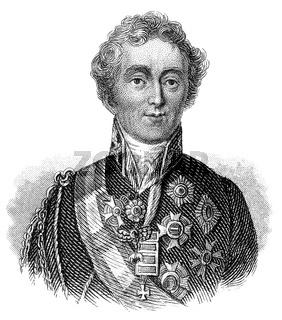 Arthur Wellesley, 1st Duke of Wellington, 1769 - 1852, field marshal and a British military leade