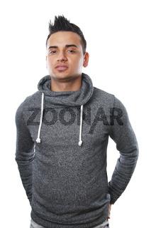 young turkish man