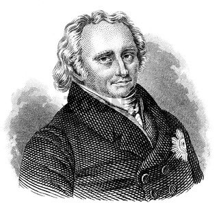 Christoph Wilhelm Hufeland, 1762 - 1836, a German physician