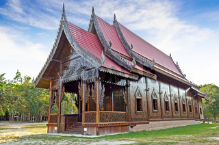 Chapel of Thai temple