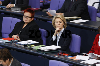 German Foreign Minister, speechs at German Parliament