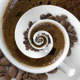 Coffee Cup Meditatin