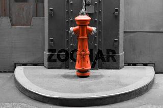 Hydrant im alten Elbtunnel