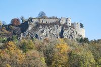 Germany's largest fortress ruin on the Hohentwiel