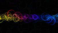 Fantastic circle background design illustration with space for your text