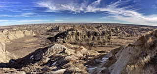 Alberta Badlands Panorama