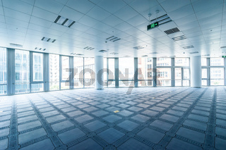 interior of modern office building