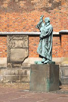 Hanover - Luther Statue in front of the Marktkirche