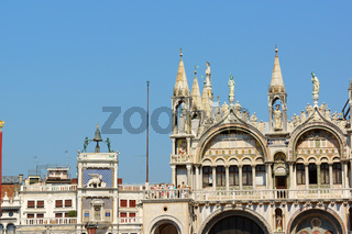 Basilica of Saint Mark and Clock Tower