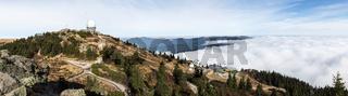Panorama Gipfelplateau Grossen Arber