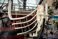Santisima Trinidad ship. Spain