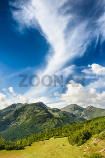 Landscape of Retezat Mountains, Romania, Europe