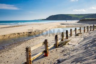 Pentewan Cornwall England UK