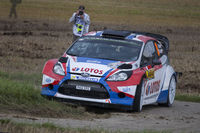 Robert Kubica Rally Germany 2014