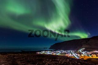 Northern Light Aurora Iceland