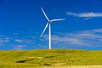 Wind turbine near Jerez de la Frontera