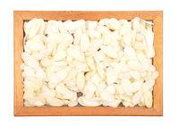 Mandelblaettchen - Almond slices in frame
