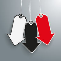 3 Arrow Price Stickers Black Friday PiAd