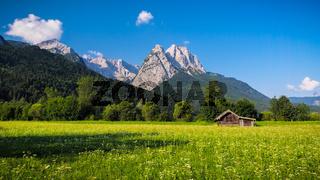 Die Waxensteine bei Garmisch-Partenkirchen