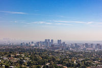 Skyline of downtown Los Angeles, California