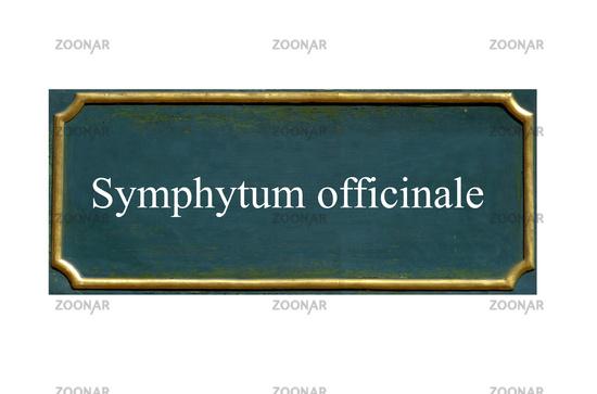 shield symphytum officinale
