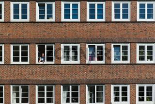 Wohnhaus in der Jarrestadt, Hamburg