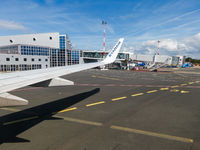 Ryanair airplane at Biarritz Anglet Bayonne Airport