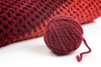 Knits and a ball of wool