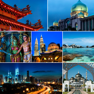 Collage of Malaysia images