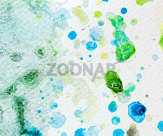 Colorful watercolor paint on canvas. Super high resolution and quality background