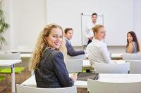 Geschäftsleute als Publikum im Seminar