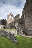 Dryburgh Abbey nearby St. Boswells